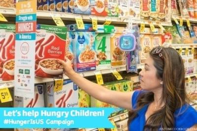 HungerIs Campaign at JustOneCookbook.com