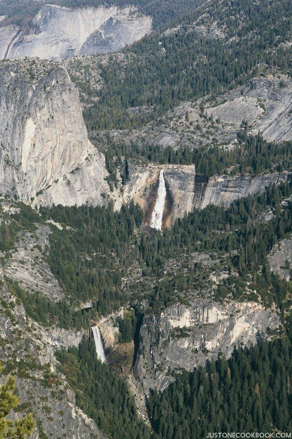 Vernal Fall Neveda Fall Yosemite | Just One Cookbook