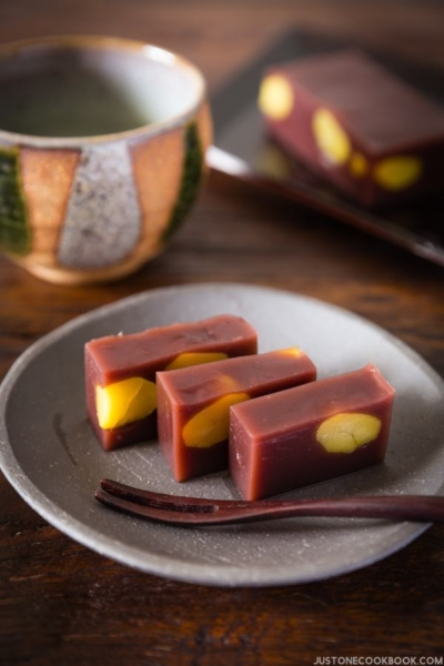 Mizu Yokan (Red Bean Jelly)   Easy Japanese Recipes at JustOneCookbook.com