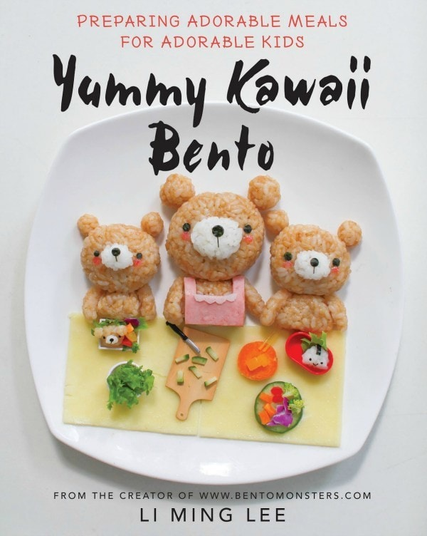 Yummy Kawaii Bento book by Li ming Lee