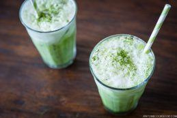 Iced Green Tea Latte | JustOneCookbook.com