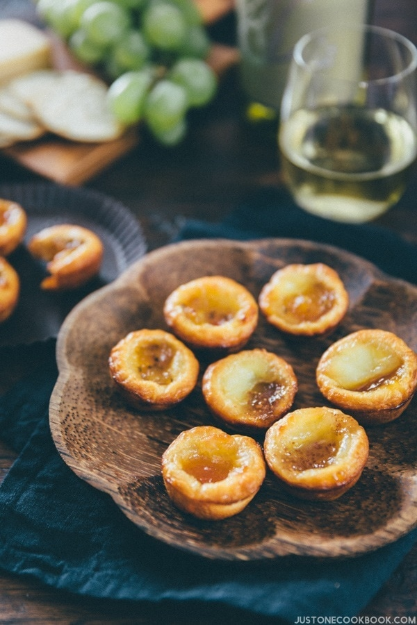 Cheese Tart - Easy Crescent Roll recipe | JustOneCookbook.com