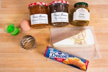Cheese Tart Ingredients
