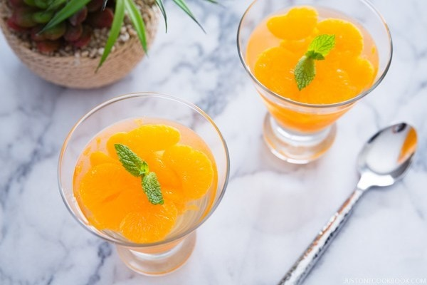 Orange Jelly | Easy Japanese Recipes at JustOneCookbook.com