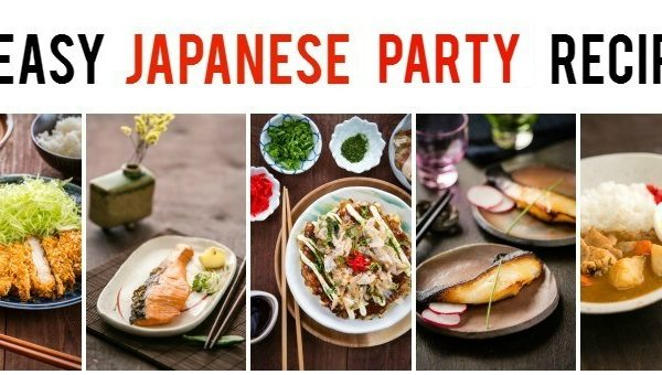 15 Easy Japanese Party Recipes at JustOneCookbook.com