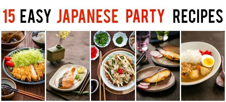 15 easy japanese party recipes just one cookbook forumfinder Gallery