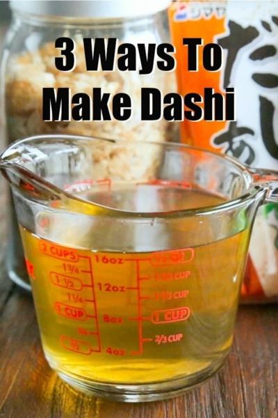 How To Make Dashi 3 Ways | Easy Japanese Recipes at JustOneCookbook.com