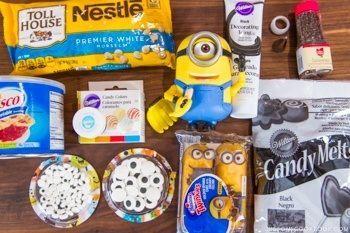 Twinkie Minions Ingredients
