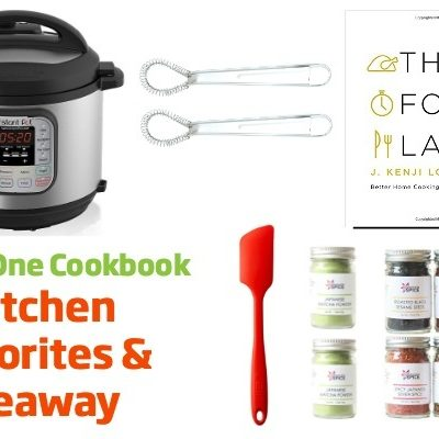 5 Kitchen Favorites & Giveaway