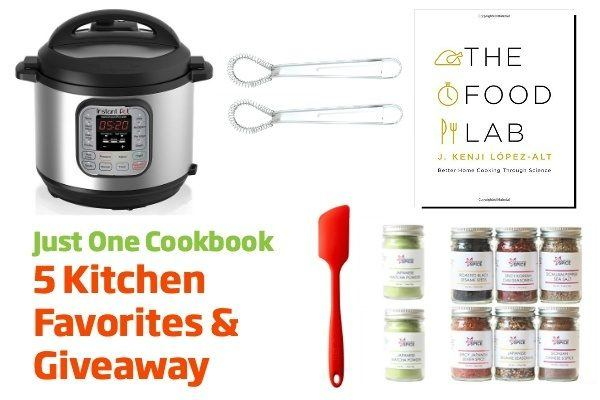 5 Kitchen Favorites & Giveaway