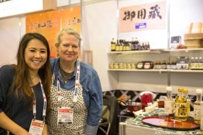 Nami & Nancy at Winter Fancy Food Show 2016 Japan Pavilion   JustOneCookbook.com