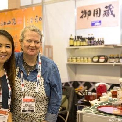 Nami & Nancy at Winter Fancy Food Show 2016 Japan Pavilion | JustOneCookbook.com