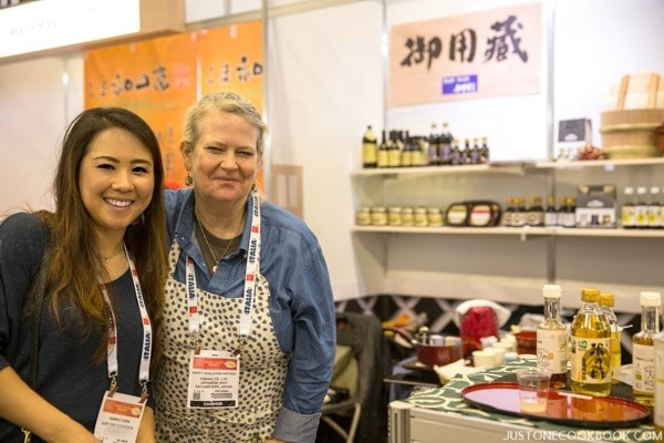 Nami & Nancy at Winter Fancy Food Show 2016 Japan Pavilion | JustOneCookbook.com