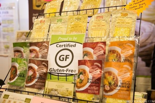 Gluten Free Noodles   Winter Fancy Food Show 2016 Japan Pavilion   JustOneCookbook.com
