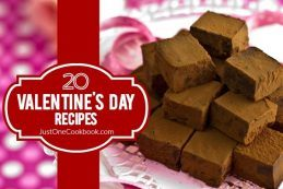 20 Valentine's Day Recipes | JustOneCookbook.com