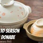 How To Season Donabe (Japanese Earthenware Pot) | Easy Japanese Recipes at JustOneCookbook.com