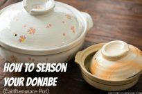 How To Season Your Donabe (Earthenware Pot)