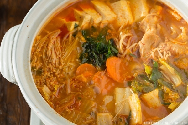 Kimchi Nabe | Easy Japanese Recipes at JustOneCookbook.com