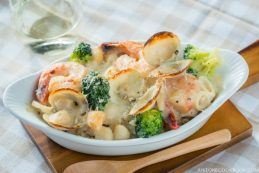 Seafood Doria (Rice Gratin) | Easy Japanese Recipes at JustOneCookbook.com
