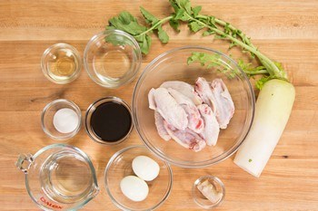 Slow Cooker Chicken Wings Ingredients