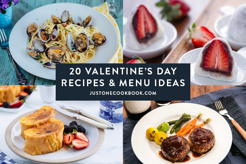 20 Valentine's Day Recipes & Menu Ideas
