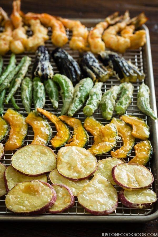 Glulten Free Tempura | Easy Japanese Recipes at JustOneCookbook.com