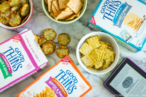 GOOD THiNS Snack | Just One Cookbook