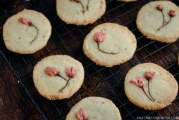 Cherry Blossom Cookies (Sakura Cookies) | Easy Japanese Recipes at JustOneCookbook.com