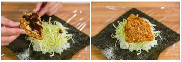 Chicken Katsu Onigirazu 6