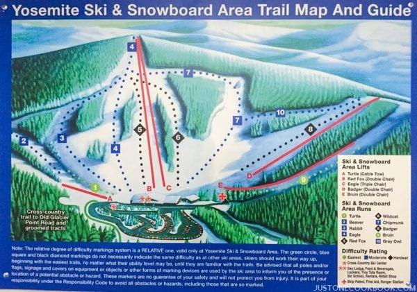 Yosemite ski and snowboard area   Justonecookbook.com