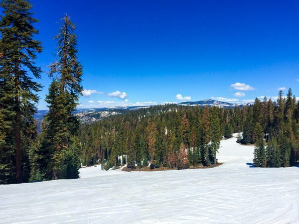 Yosemite ski and snowboard area | Justonecookbook.com