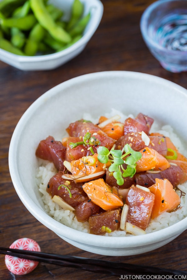 Poke Bowl | Easy Japanese Recipes at JustOneCookbook.com