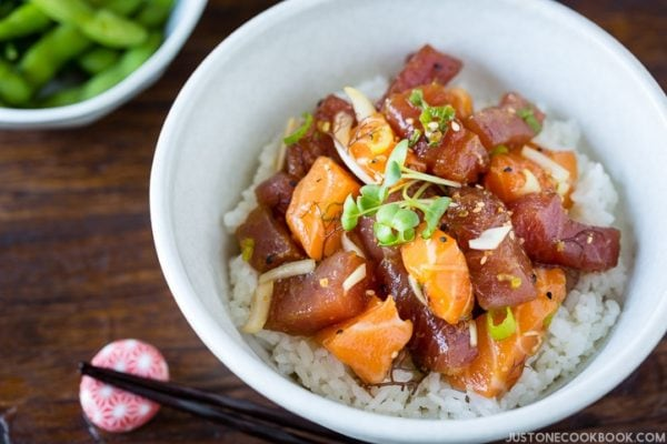Poke Bowl | Easy Japanese Recipes at JustOneCookbook.comPoke Bowl | Easy Japanese Recipes at JustOneCookbook.com