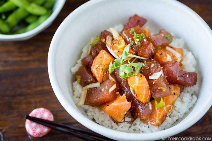 Poke Bowl | Easy Japanese Recipes at JustOneCookbook.comPoke Bowl | Easy Japanese Recipes at JustOneCookbook.com