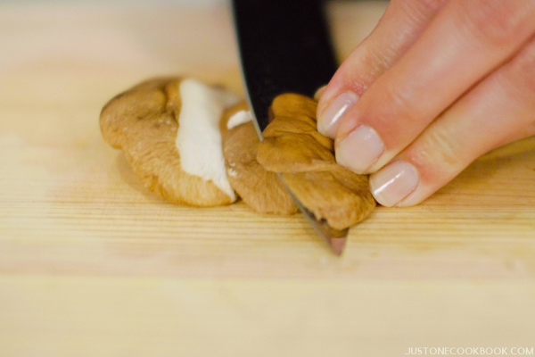 Sogigiri | Japanese Cutting Technique | Easy Japanese Recipes at JustOneCookbook.com