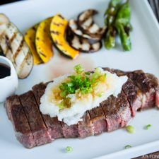 Sous Vide Steak - Japanese Style (Wafu Steak) | Easy Japanese Recipes at JustOneCookbook.com