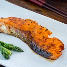 Teriyaki Salmon (照り焼きサーモン)   Easy Japanese Recipes at JustOneCookbook.com