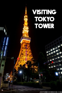 Visiting Tokyo Tower | Easy Japanese Recipes at JustOneCookbook.com