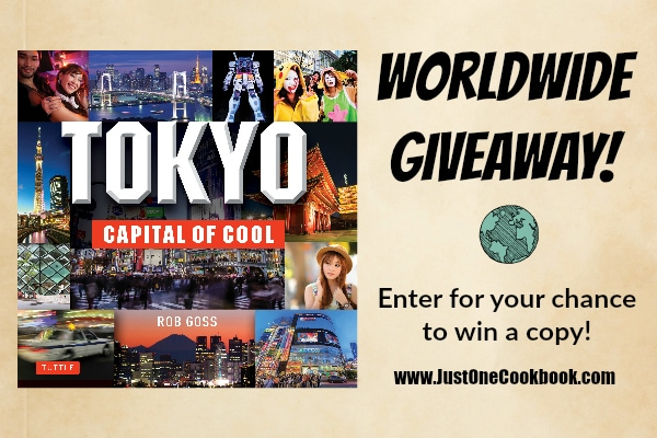 Tokyo Giveaway