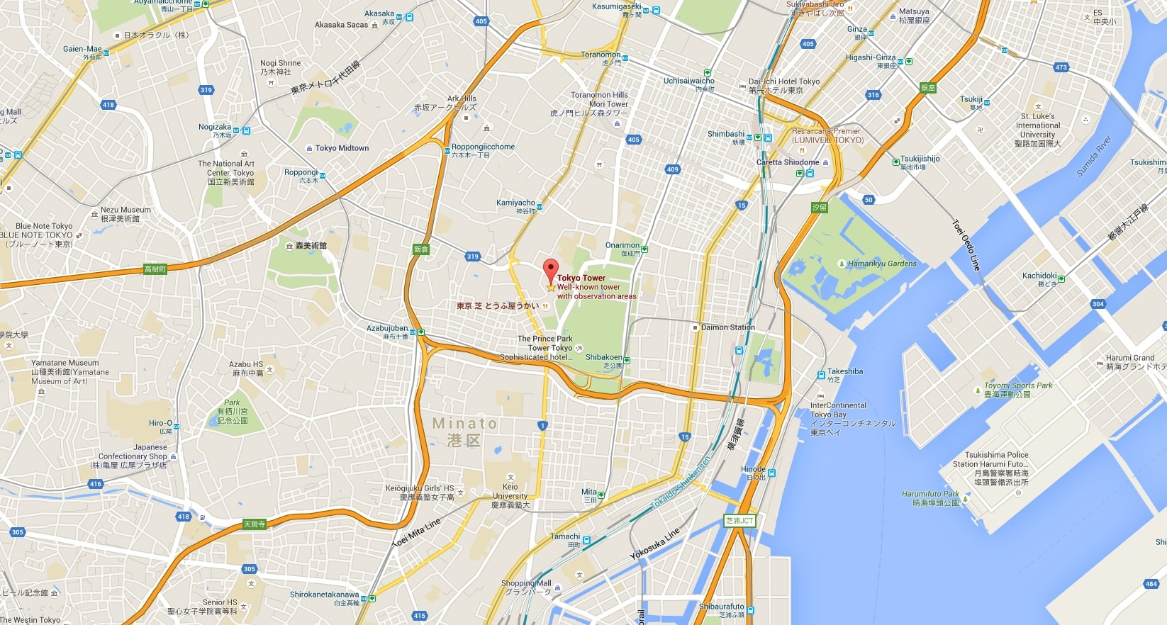 Where Is Tokyo Located On The World Map.Visiting Tokyo Tower 東京タワー Just One Cookbook