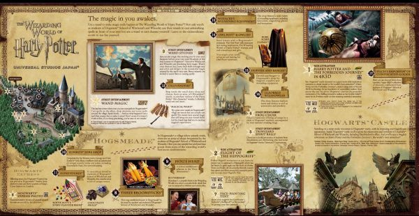 Universal studios japan guide just one cookbook harry potter map universal studios japan gumiabroncs Images