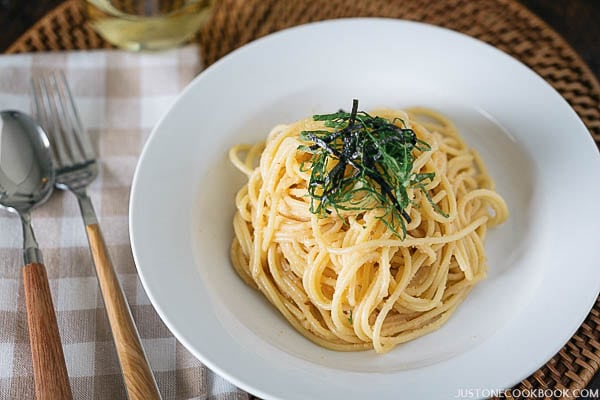 Mentaiko Pasta | Easy Japanese Recipes at JustOneCookbook.com
