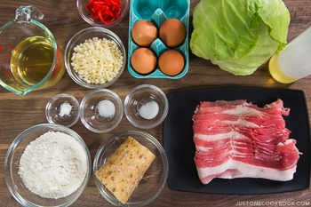 Okonomiyaki Ingredients NEW