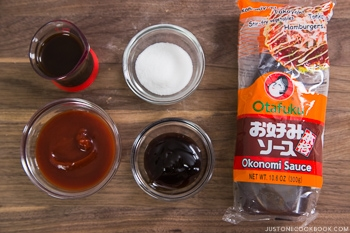 Okonomiyaki Sauce Ingredients