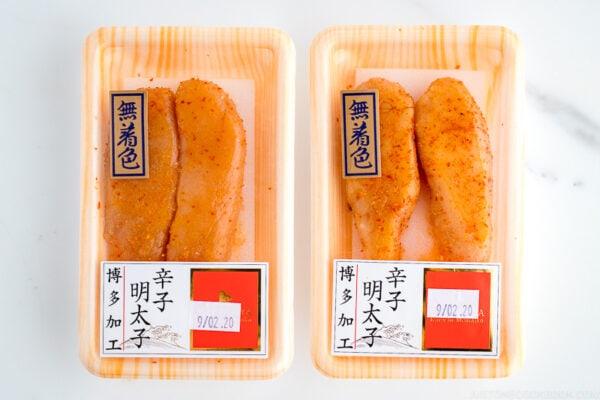 Karashi Mentaiko (Spicy Pollack/Cod Roe)