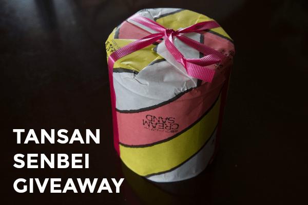 Tansan Senbi Worldwide Giveaway