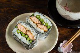 Teriyaki Salmon Onigirazu   Easy Japanese Recipes at JustOneCookbook.com
