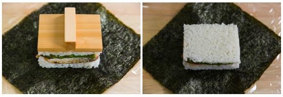 Teriyaki Salmon Onigirazu 5