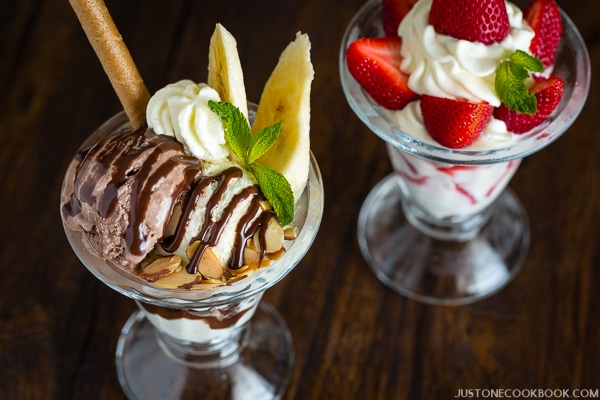 Japanese Parfait (パフェ) | Easy Japanese Recipes at JustOneCookbook.com