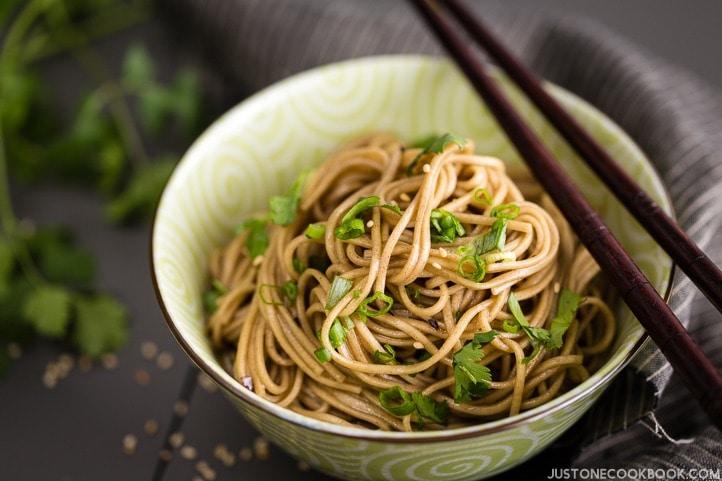 Soba Noodle Salad 蕎麦サラダ Just One Cookbook